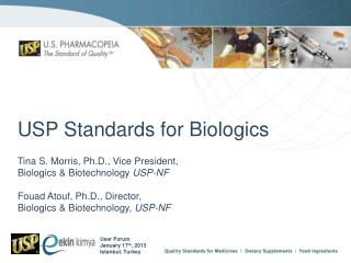 USP Standards for Biologics
