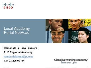 Local Academy Portal NetAcad