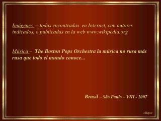 Brasil  – São Paulo – VIII - 2007