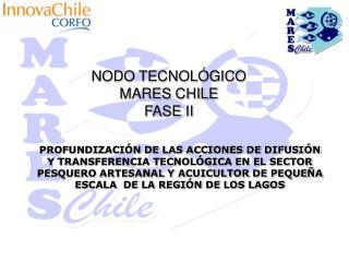 NODO TECNOLÓGICO  MARES CHILE FASE II