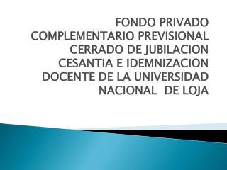 ANTECEDENTES EL DECRETO 1001 CON FECHA 1RO DE ABRIL  DEL 2008