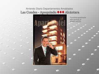 Arriendo Diario Departamentos Amoblados Las Condes - Apoquindo ttt Alcántara
