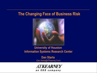 The Changing Face of Business Risk