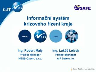 Informační systém krizového řízení kraje