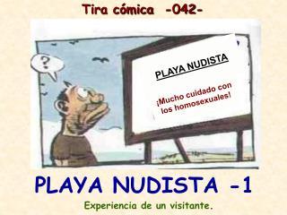 PLAYA NUDISTA -1