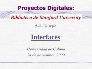 Proyectos Digitales: