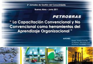 2° Jornadas de Gestión del Conocimiento Buenos Aires – Junio 2011