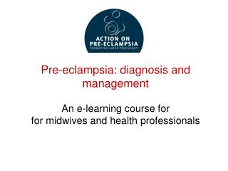 E-learning course objectives