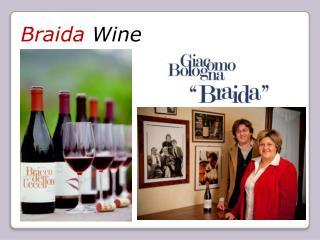 Braida Wine