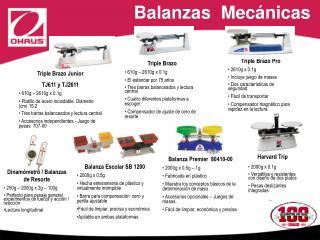 Balanzas  Mec nicas