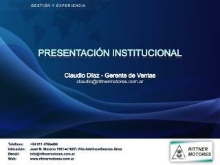 Teléfono:+54 011 4766-466 Ubicación:José M. Moreno 1951 - (1607) Villa Adelina - Buenos Aires