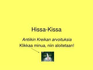 Hissa-Kissa