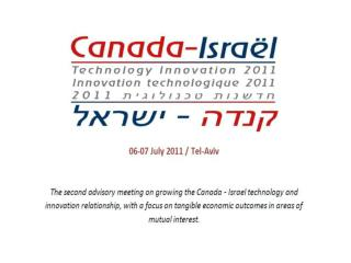 State of Israel Ministry of Industry, Trade & Labor Office of the Chief Scientist
