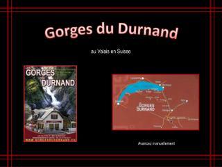 Gorges du  Durnand