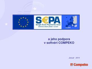 a jeho podpora  v  softv éri COMPEKO