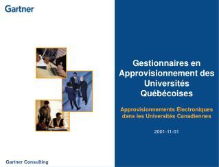 Gestionnaires en Approvisionnement des Universités Québécoises