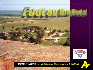 KEITH YATES   �  Adelaide Resources Limited