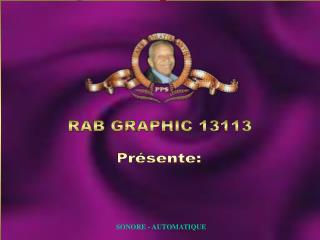 RAB GRAPHIC 13113