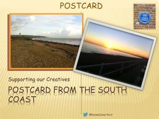 Postcard from the south coast