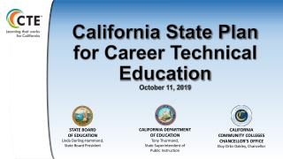 Career and Technical Education Vision and Goals  Perkins IV Update Issues