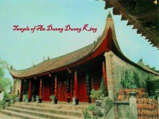 Temple of An Duong Duong King