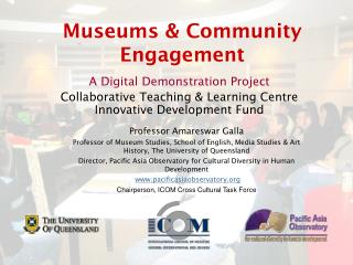 Museums & Community Engagement
