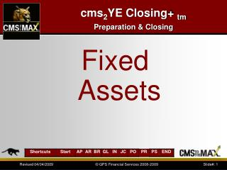 cms 2 YE Closing+  tm Preparation & Closing
