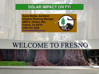 SOLAR IMPACT ON FYI