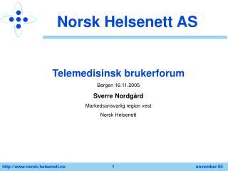 Norsk Helsenett AS