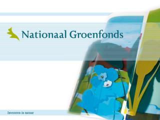 Nieuwe financieringsmogelijkheden  voor natuur en landschap