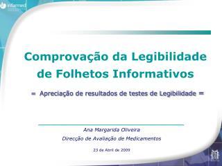 _____________________________________ Ana Margarida Oliveira