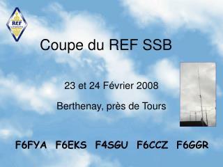 Coupe du REF SSB