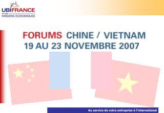 A l'occasion du 8 ème  Forum ASEAN organisé en partenariat avec les CCEF et le MEDEF International