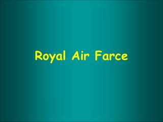 Royal Air Farce