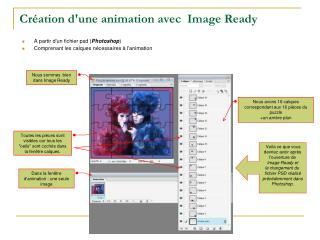 Création d'une animation avec  Image Ready