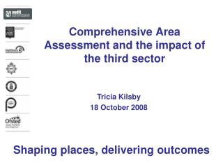 Comprehensive Area Assessment and the impact of the third sector