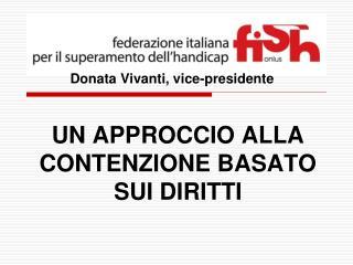 Donata Vivanti, vice-presidente