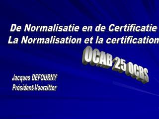 OCAB 25 OCBS