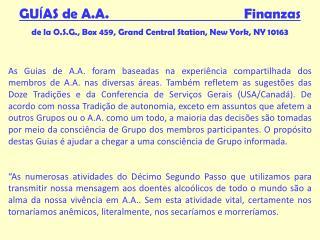 GU Í AS de A.A.                                       Finanzas