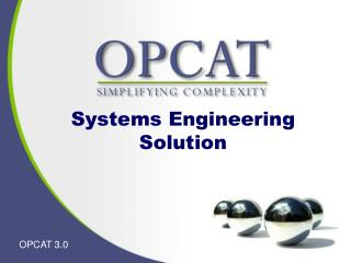 Systems Engineering  Solution