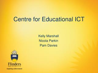 Centre for Educational ICT