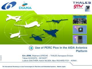 Use of PERC Pico in the AIDA Avionics Platform