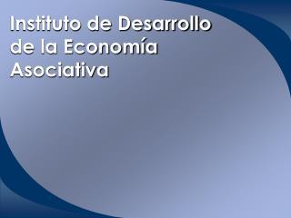 Instituto de Desarrollo de la Economía Asociativa
