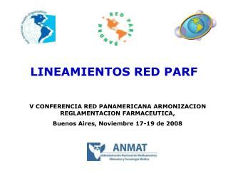 LINEAMIENTOS RED PARF