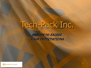 Tech-Pack Inc.