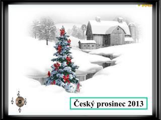 Český prosinec 2013