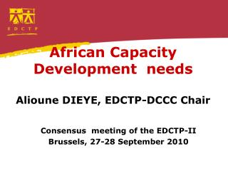 African  Capacity Development   needs
