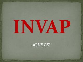 INVAP