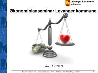 Økonomiplanseminar Levanger kommune