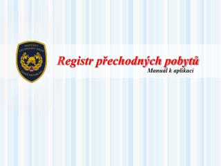 Registr přechodných pobytů